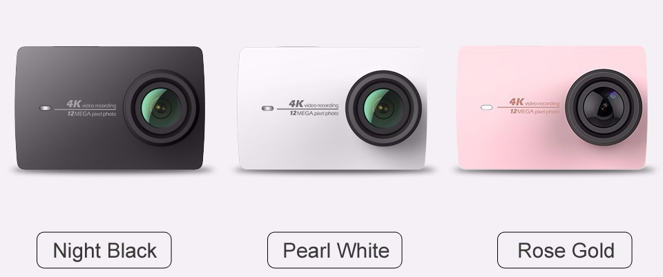 International Version XiaoMI yi II 4K Action Camera sport camera A9SE75 record DV VS Go Pro Hero4 Black Cam wifi full hd camera