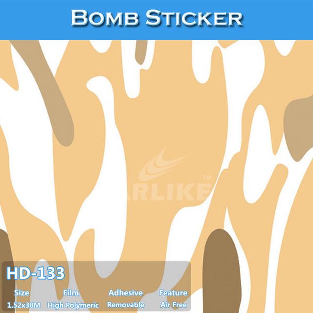 CARLIKE HD-133 Car Decorative Wrapping Film Sticker Bomb Rolls For Sale