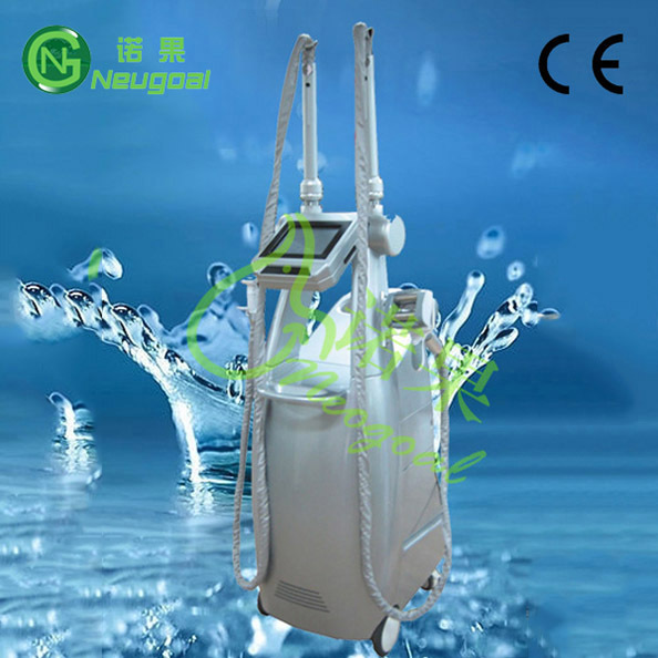 humanized design vertical M8+2 ultrasonic wave slimming machine with ce
