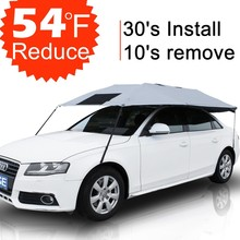 SUNCLOSE Anti-thief windproof sun snow protection car umbrella for cars