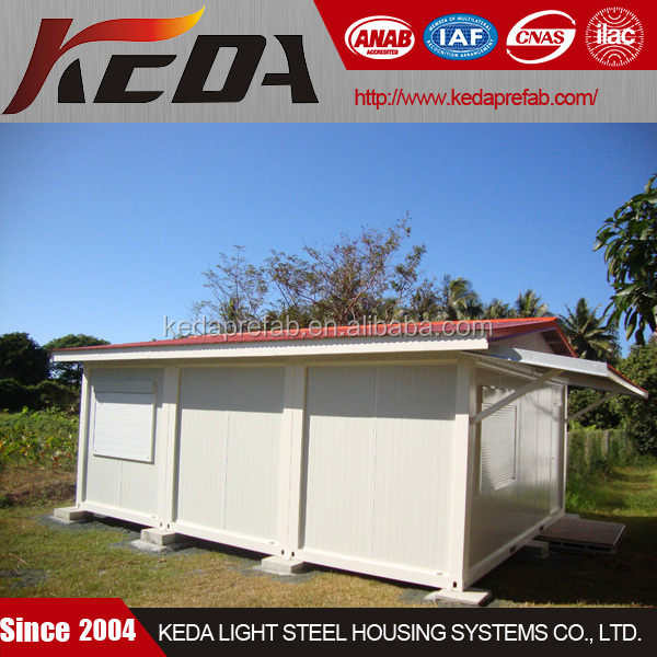 Extend House Combined By 20ft Prefab Container Home Kit