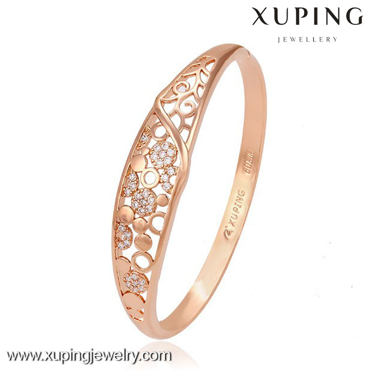 51248 new arrival bangles antique gold plated jewelry bangle manufacturer sales in china