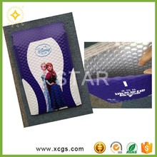 Customized Color Plastic Bubble Mailer/ Metallic printed colored protective padded envelopes