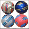 6 panel match soccer ball,32 panels leather soccer ball