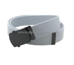 wholesale custom Camouflage pants trouser clothing belts fabric webbing belts 100% cotton canvas polyester army web belts