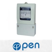 DEM321CT three phase four wire energy meter,three phase analog energy meter