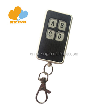 4 buttons Plastic Case Remote Control Duplicator 433mhz