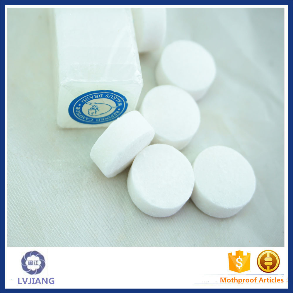 Low price of chemical naphthalene camphor cakes with great price