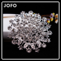 Luxury Channel Crystal Brooch High Quality