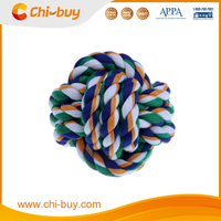 Camouflage Round Cotton Rope Monkey Fist Cat Dog Plaything