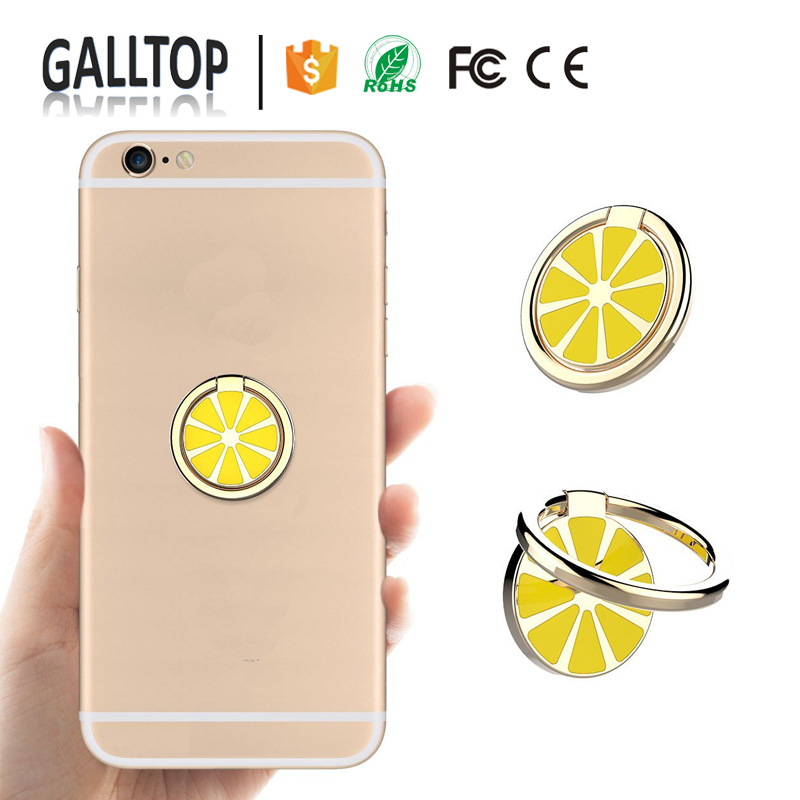 Hot New Designs Fruits Mobile Phone Stand Support Smartphone Hook Finger Ring Holder