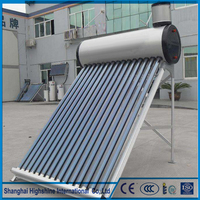 High quality 2013 Hot Sale Solar Room Heater with Assistant Water Tank Compact