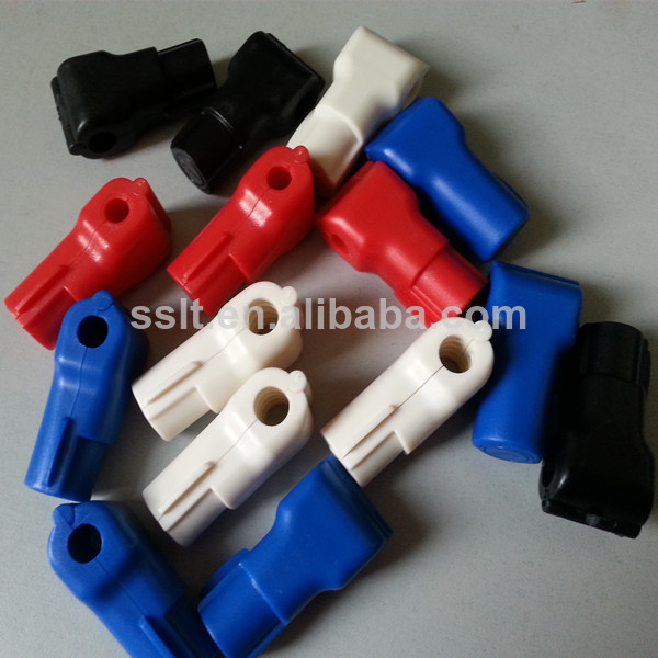 6mm RED magnetic stop lock/stop lock for stem hooks/ stop lock hook with magnetic key produced by sslt