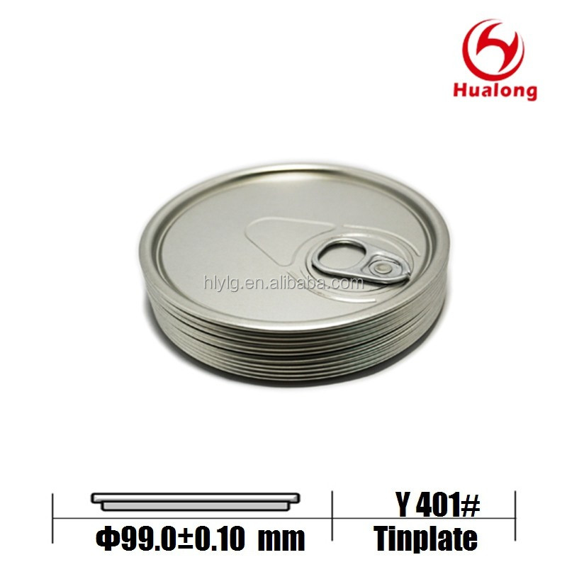 Metal EOE Lid Aluminium Easy Open Ends 401# 99mm for engine oil machine oil