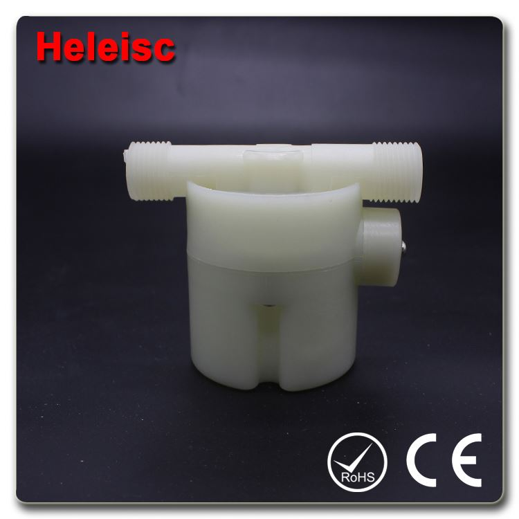 Water level controller float valve safety and shut off ball valve