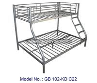Metal Bunk Bed, Modern Double Decker