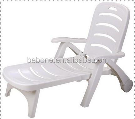 Bianco a buon mercato plastica sedia a sdraio pieghevole for Sedie a buon prezzo