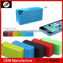 Fashionable water cube multi funtion bluetooth speaker