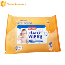 Alibaba trade assure small packing 10 pcs Hygiene Products Baby Wipes