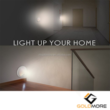 Goldmore2 Mini Ambient Motion Sensor LED Light For Closet Stair Hallway Bedroom Kitchen