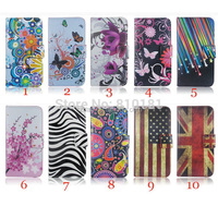 New Butterfly Heart Flower star zebra UK US flag Wallet PU Leather Case For Samsung Galaxy S6 Edge Plus Galaxy S6 Edge+
