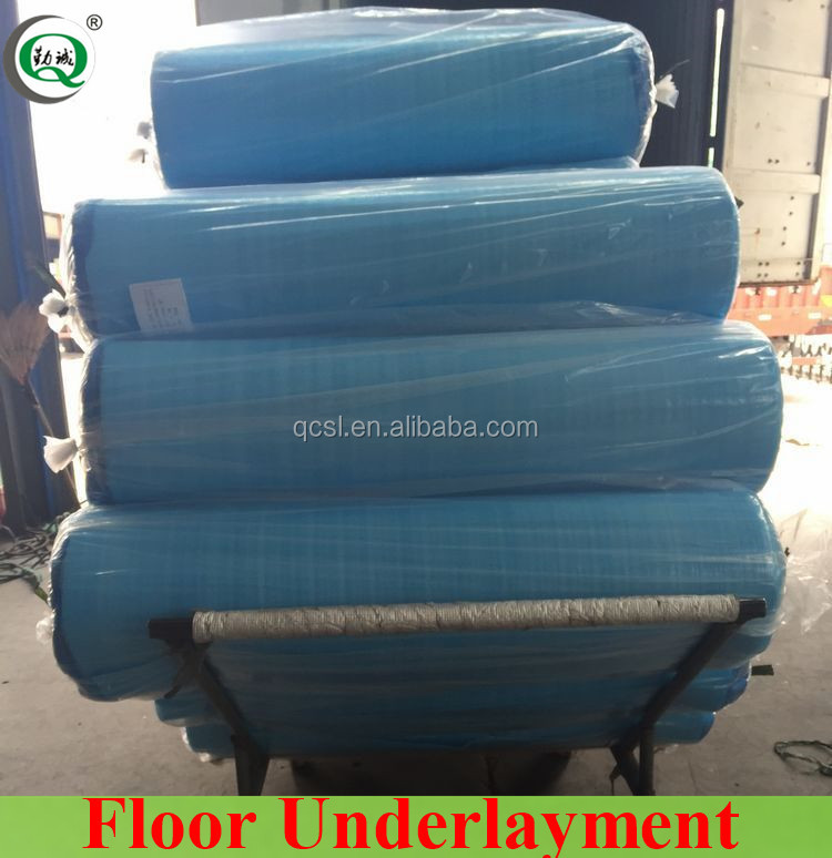 Soundproof PU Foam Underlay Hangzhou Factory