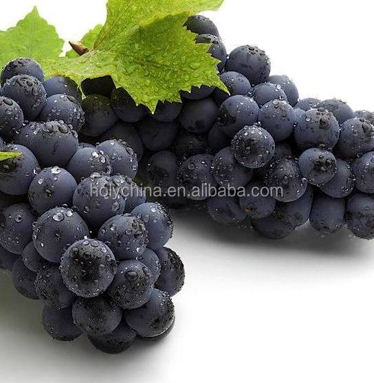 hot sale high quality fresh black seeded grapes