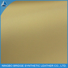good quality latticed printed breathable pig skin lining pu