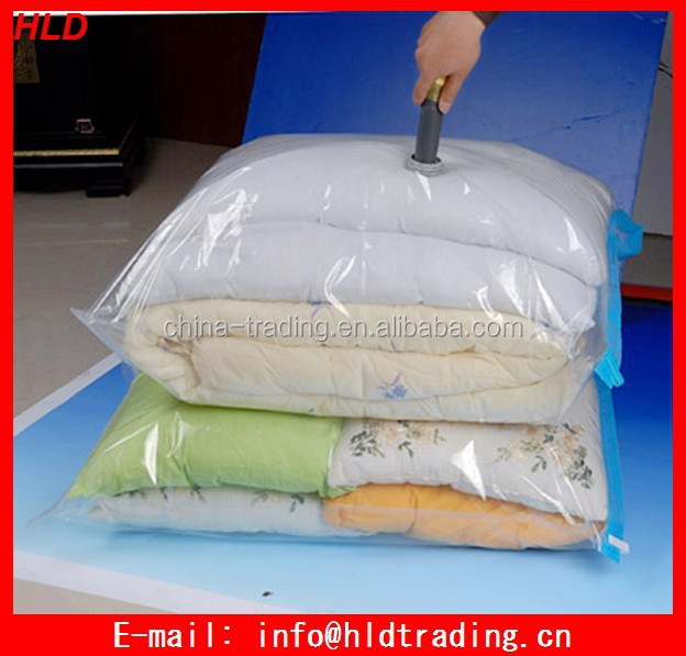 Factory Price Large Vacuum Storage Bag With Pump