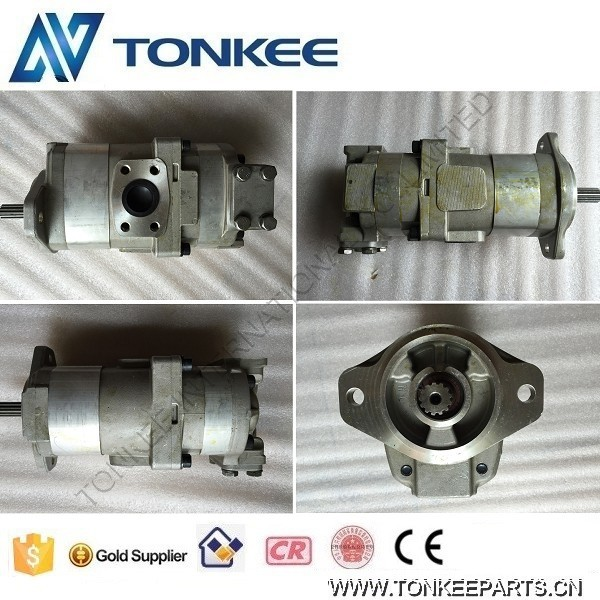 705-52-20100 PC60-1 gear pump 13 teeth PC60 hydraulic gear pump (.jpg