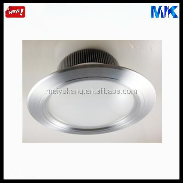 hot sale on china market 8inch extruded aluminum light housing 18w round plastic lamp shade