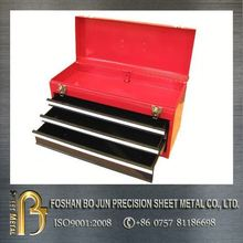 powder coated tool box with 3 drawers