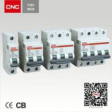China top 500 Enterprise.YCB2-63 63 Amperes 3 Poles MCB
