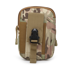 600D tactical military pouch molle system waterproof cellphone pouch