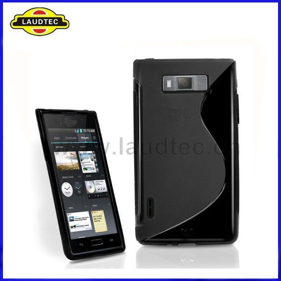 For LG Optimus L7 P700 P705 S Line Wave TPU gel case cover NEW PRODUCT!!!!!!