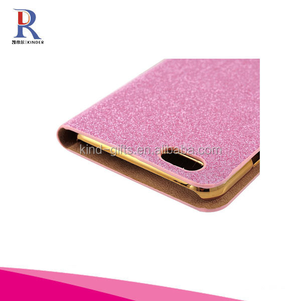 PU Leather Wallet Case with Card Slots For Iphone 6