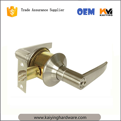 Schlage commercial Series Grade 3 Cylindrical Lock, Storeroom Entrance Hotel Function, Saturn Lever Design, Satin Nickel Finish