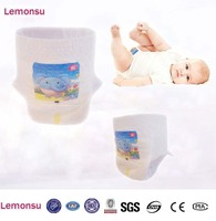 easyup baby diaper disposable Cotton-like training pants manufacture in china