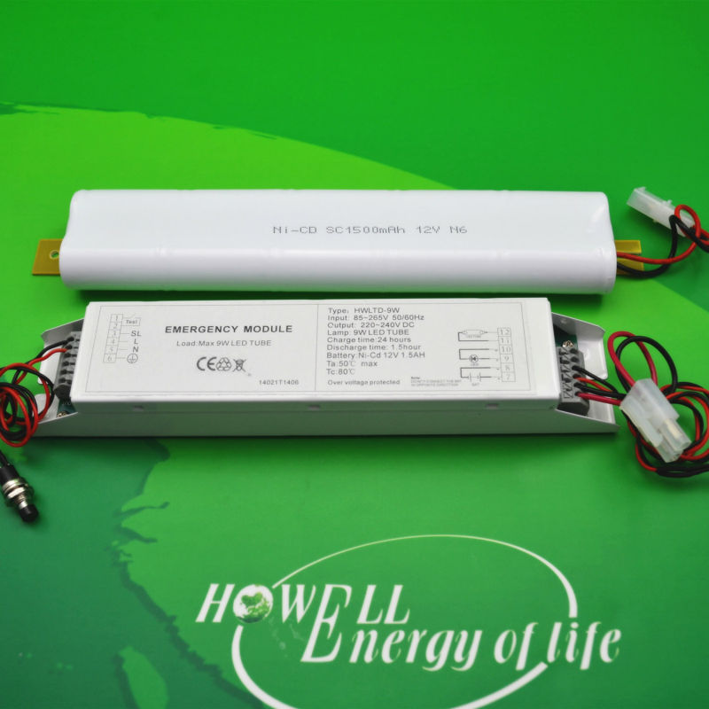 t8 led tube emergency light conversion kit for led tube