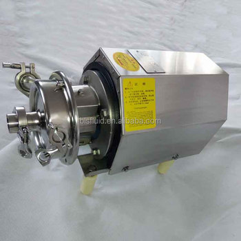 industrial open impeller stainless steel centrifugal beer pump