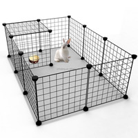 Pets Large Interactive Guinea Pig Hamster Cage Habitat Plus INDOOR DOUBLE DECKER cage