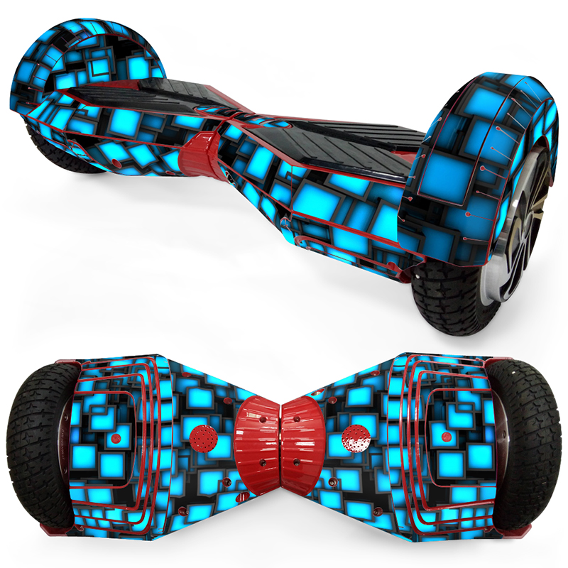 "Self Balance Wheel Hoverboard Scooter Skin Stickers Cover Color Skin Choose For 8"" Best Quality Protect Your Scooter"
