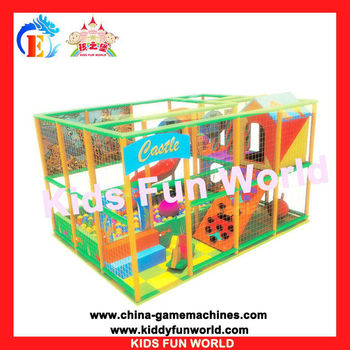 naughty castle fashional kids fun world indoor &outdoor soft play ground(KFW-N1016)