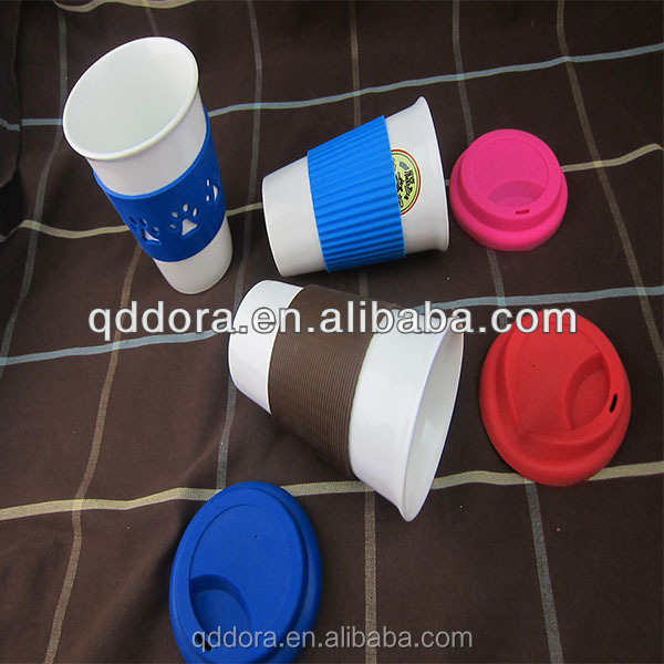 New bone china promotional tea cup with lid/2014 promotional ceramic cup with lid