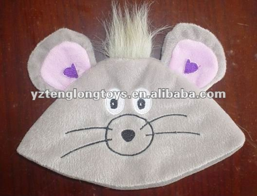 Cute And Lovely Cat Face Plush Baby Hat
