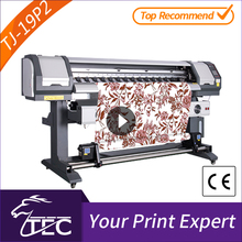 fast 1.8m 2 pcs pc3200 head cmyk sublimation paper digital nail art printer for sale