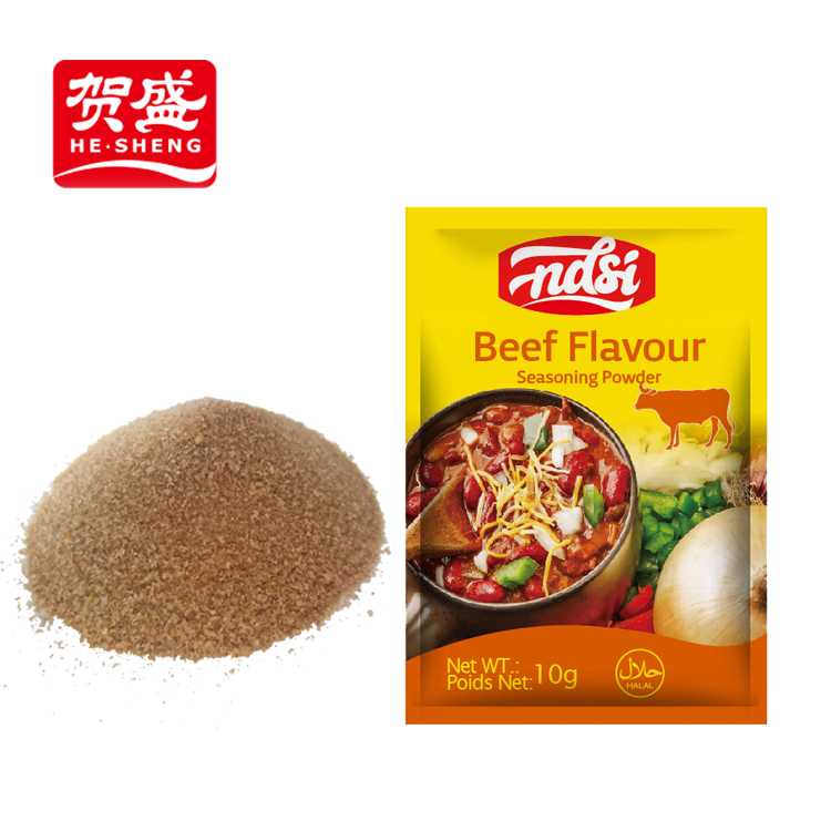 Manufacture beef chicken flavour powder sachet wholesale spices powder