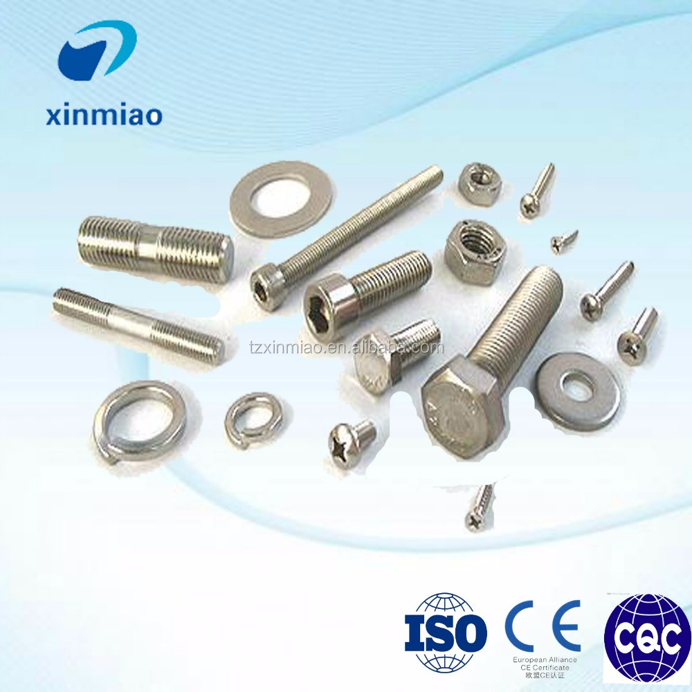 U type/J shape/Flange/hex ss201 nut and bolt with lowest price