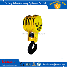 Crane hook block crane shank hook used for lifting materials