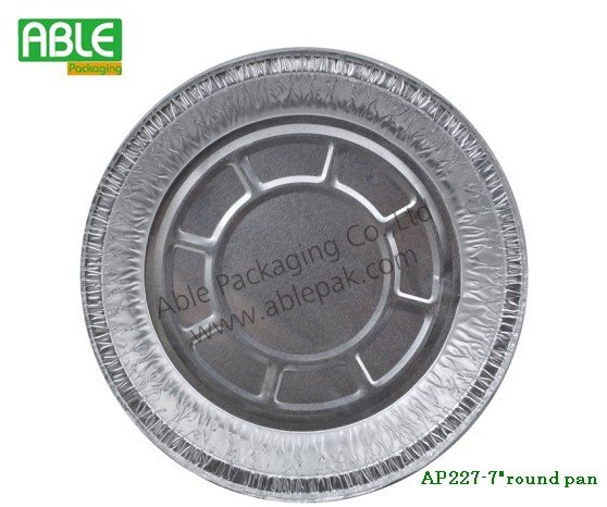 Shanghai ablepak disposable Aluminium foil pizza tray
